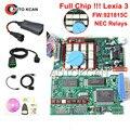 Chips Original Completo V7.83 com Firmware 921815C Lexia3 Ferramenta de Diagnóstico PP2000 Diagbox Lexia 3 Lexia-3 V48 PP2000 V25