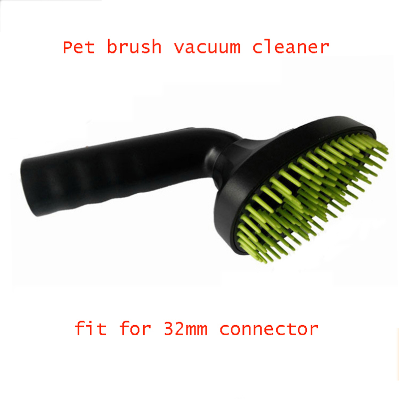 2015 fashion excellent pet brush dog comb vacuum cleaner pet brush siicone teeth 32mm diameter pet attire sparkles dog collar 8 12in pink