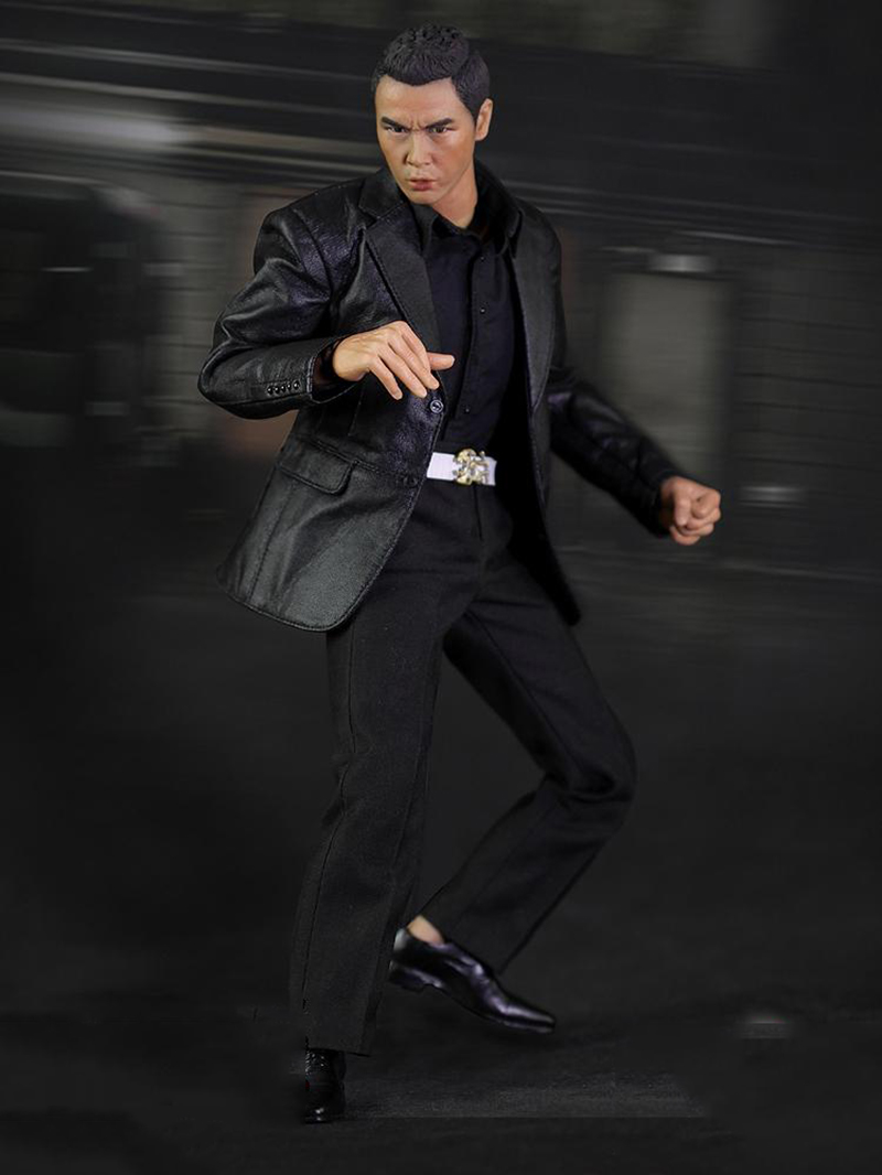 1/6 HK CID Senior Inspector Donnie Yen Sir Collcection Action Figure With Two Heads for Gifts Toys Collections 1