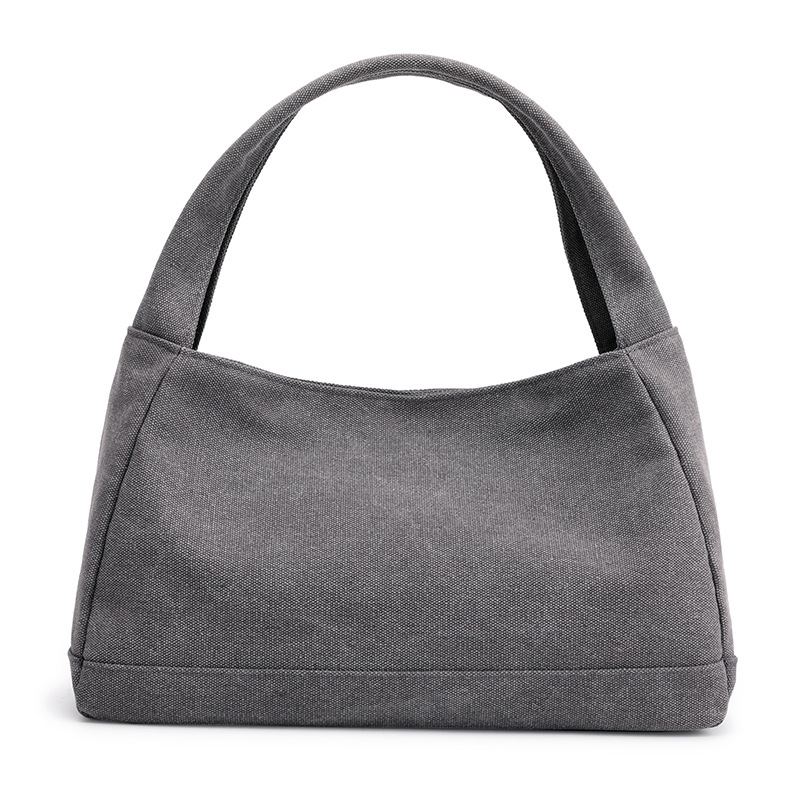 1512 Women's Handbag Canvas Bag Women's Plain Colors Simple Small Bags Bag