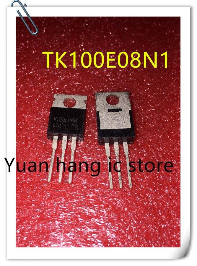 20PCS K100E08N1 TK100E08N1 TO-220