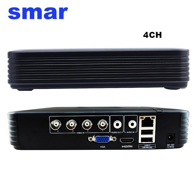 미니 4CH 8CH 1080N AHD DVR 5 in 1 하이브리드 DVR HVR 비디오 레코더 Onvif XMEYE 클라우드 P2P 홈 보안 1080P NVR CCTV DVR 시스템
