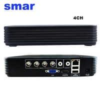 Mini 4CH 8CH 1080N AHD DVR 5 in 1 Hybrid DVR HVR Video Recorder Onvif XMEYE Nube P2P di Sicurezza Domestica 1080P NVR CCTV DVR Sistema