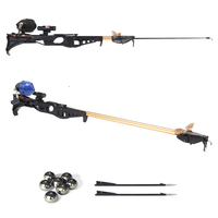 Flying Eagle Slingshot Hunting Fishing Bow Catapult Support Fishing Reel Multi function Steel Ball Ammo Arrow Shooting Rod