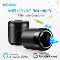 2019 neueste Broadlink RM Mini3 Schwarz Bean Smart Hause Universelle Intelligente WiFi/IR/4G Drahtlose Fernbedienung durch Smart Telefon