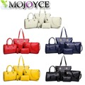 2017 NEW 6pcs/set Fashion Crocodile Handbag PU Leather Bag Women Handbags Crossbody Bag Handbag+Messenger Bag+rse+Wallet 6 sets