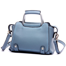 New Style 2016 Europe Fashion women Genuine leather handbags women shoulder bag top quality small bag messenger bags  KD6070