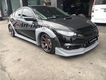 Z-ART кузов комплект для Honda Civic 2016 type R тела комплект для CIVIC седан тюнинг комплект для нового civic DHL/TNT/FEDEX бесплатно доставка