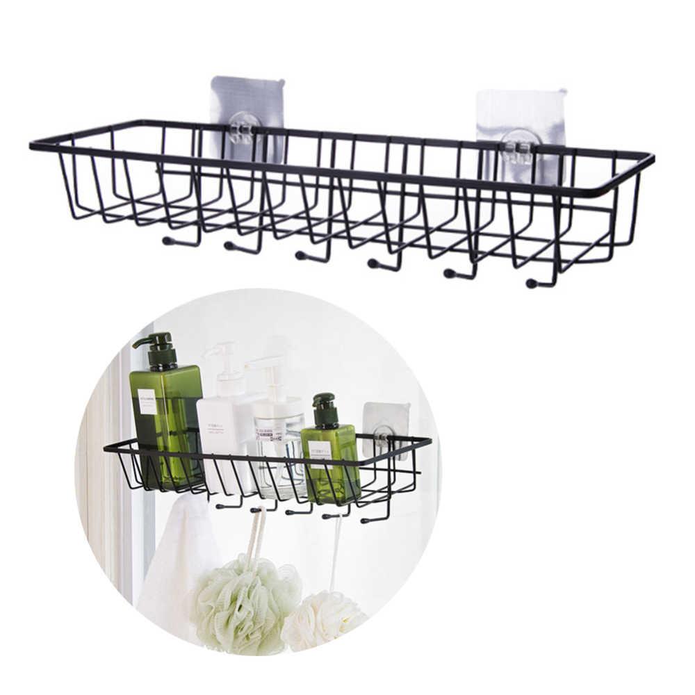 Ręczniki łazienkowe regał magazynowy Organizer na kosmetyki półka żelazko uchwyt na papier toaletowy narzędzia kuchenne Organizer bezśladowa pasta