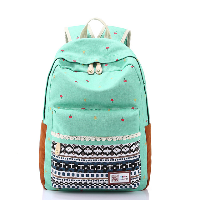 Aliexpress.com : Buy Canvas Backpacks For Teen Girls School ...