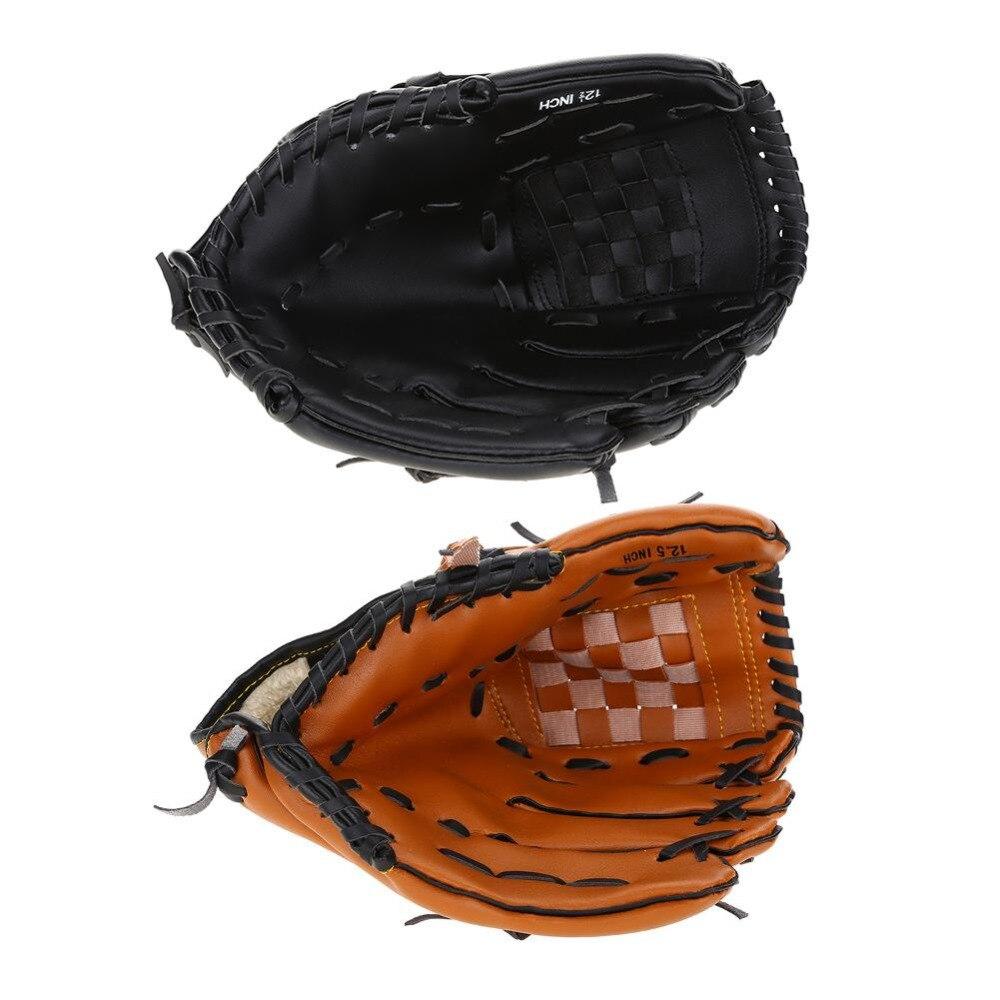 Sport Zubehör 10,5 12,5 Zoll Stecker Linken Hand Baseball-handschuh Erwachsene Baseball Zubehör Links-handschuh Für Praktizierende Training Wettbewerb