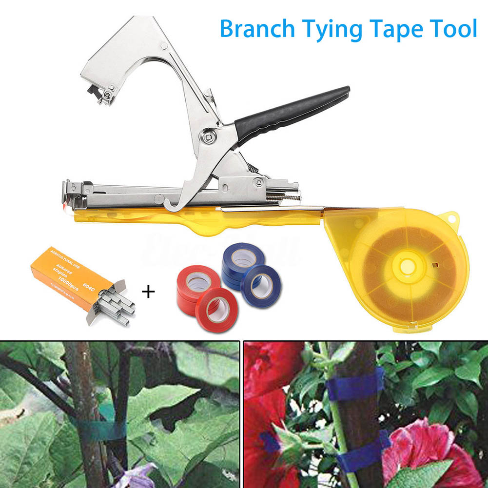 Vine Branch Tying Tape Tie Stapler Hand Tool Plant Fruit Vegetable Nursery Pruning Tools CLH@8 зарядное устройство kolner kbch 8