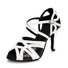 f4da6a6c Hohenlew zapatos de baile latino para mujer zapatos de baile de salón de baile  negro blanco púrpura zapatos de fiesta Salsa taco.