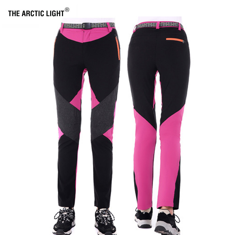 THE ARCTIC LIGHT Summer Outdoor Quick Dry Sport Hiking Pants Solid Elastic Polyester Trousers Mountaineering Trekking Running