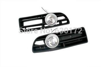 Front Fog Light Kit With LED Surround For VW Volkswagen Jetta / Bora MK4