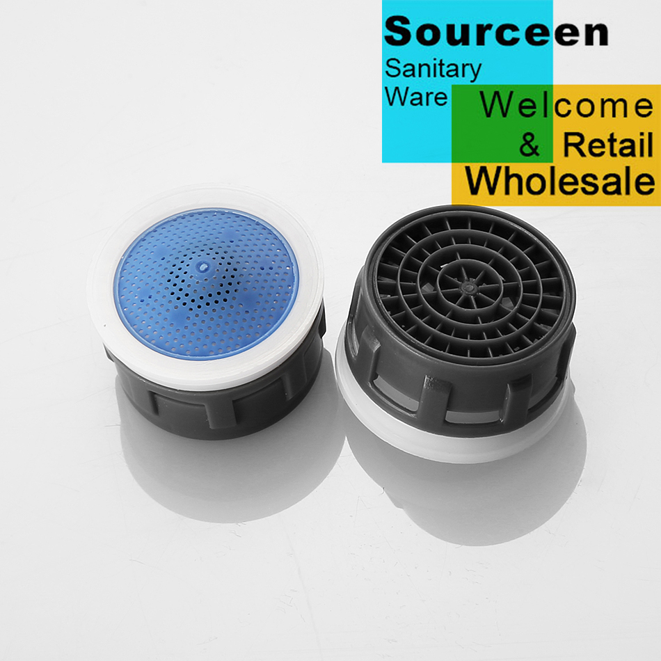 WASOURLF 6 PCS water saving faucet aerator 4L minute 24mm male 22mm ...