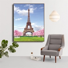 Laeacco Paris Tower Wall Art Canvas Painting Wall Picture For Living Room Nordic Home Decoration Posters And Prints Home Decor laeacco sea marine fish sunshine posters and prints canvas painting wall art picture home decor living room decoration