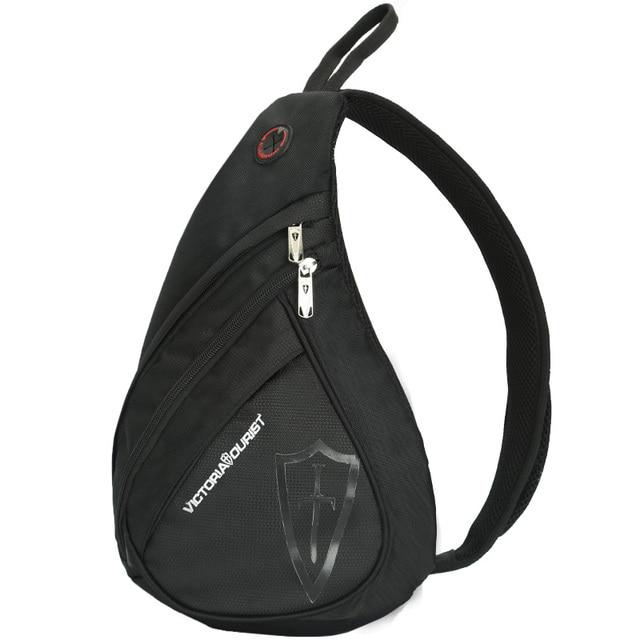 VICTORIATOURIST negro bolsa de mensajero de los hombres/de los hombres bolsas de hombro/crossbody bolsa de nylon resistente al agua para los hombres/5003 NEGRO