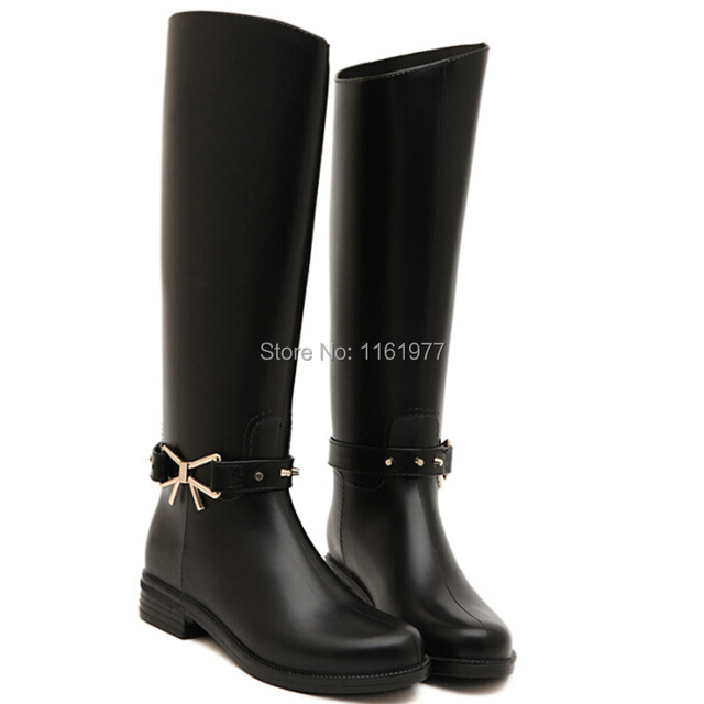 Sexy rubber boots