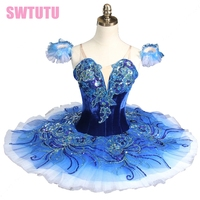 Для взрослых сапфировый синий балетная пачка, Розовый Классический Балетная пачка розовый professional балетные костюмы пачки для продаж BT8980