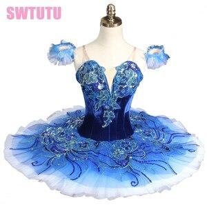 Adult Sapphire blue ballet tutu,pink Classical Ballet Tutu pink professional tutu ballet costumes for sales BT8980