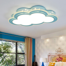 купить Modern Acrylic LED Ceiling Lights luminarias para sala Creative remote control ceiling Lamp Bedroom living room Kids room Study по цене 7034.17 рублей