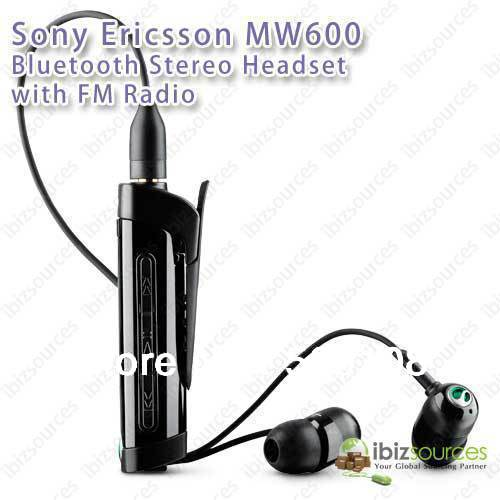 sony ericsson hi fi wireless headset with fm radio mw600 bluetooth rh aliexpress com