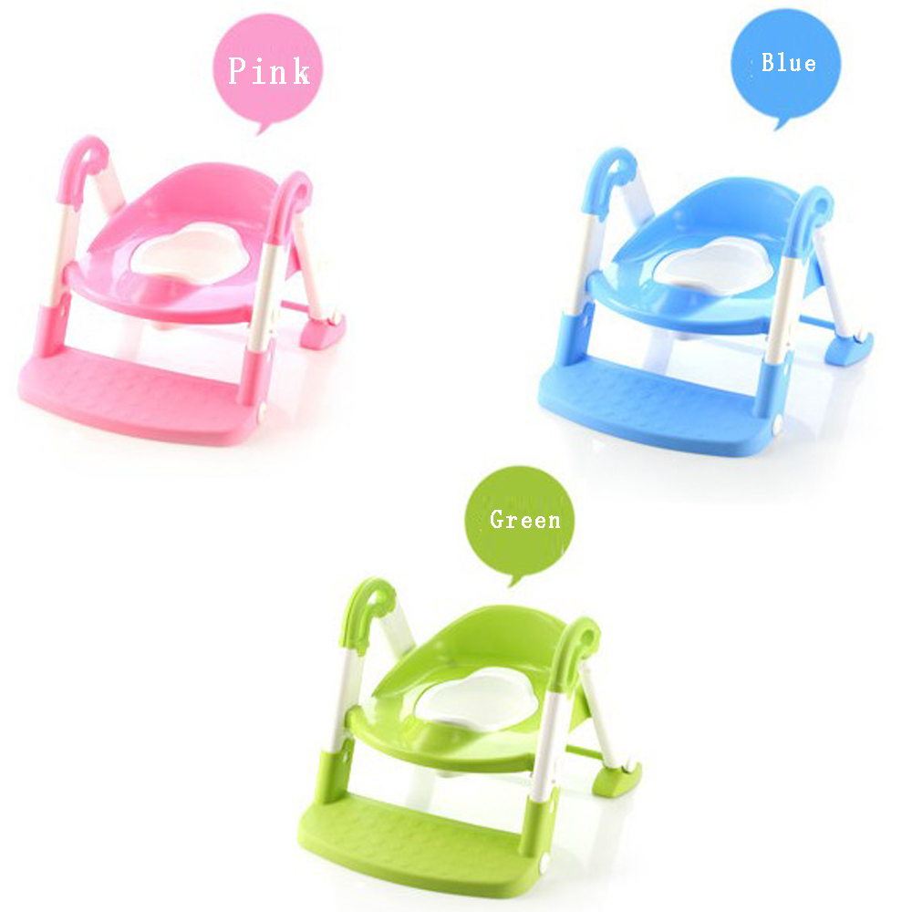 Potty Seat Ladder Baby Toilet Trainer Chair Seat Toddler Potty ...