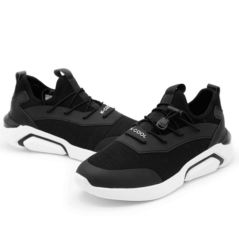 Lacets De Adulte Mesh Mode 2018 Chaussures Marque 39 Taille Casual Pour Automne Printemps Confortable La Respirant Nouvelle Hommes Plus Black 44 Yxwq7YHI
