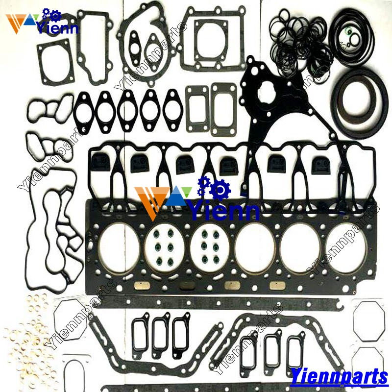 US $260 0 |For Volvo D6D Full Gasket Kit with Head Gasket Steel made For  VOLVO EC210B EC240B Excavators diesel engine parts-in Pistons, Rings, Rods  &