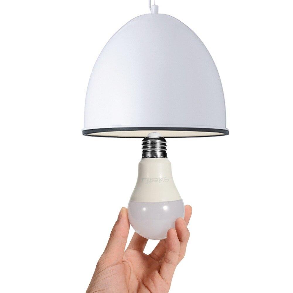 AKDSteel LITAKE 12 emballé A19 E26 E27 ampoule de lumière LED de Base Non dimmable lumière du jour blanc 5000 K 100 Watt équivalent 11 W CRI 80