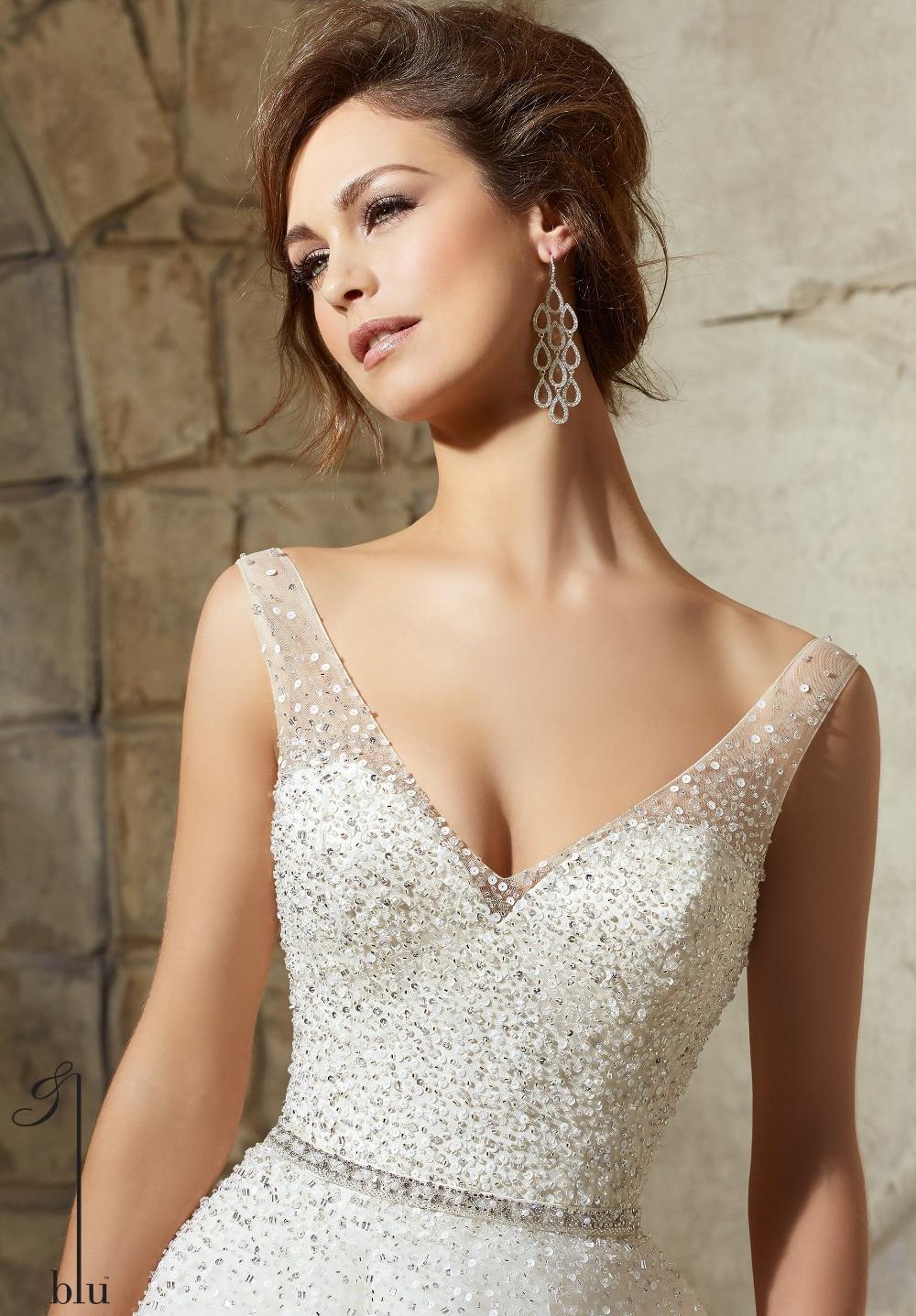 Sequin Wedding Dress Ivory   Wedding