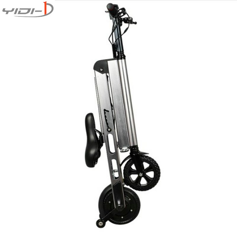 Two wheels electric scooter easy to carry patinete electrico city kick scooter electric 8 inch Inflatable tire dualtron