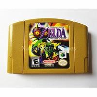 Nintendo N64 Game The Legend Of Zelda Majora S Mask Video Game Cartridge Console Card US