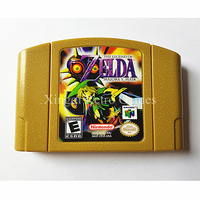 Nintendo N64 Spiel The Legend of Zelda Majora Maske Video Spiel Patrone Konsole Card US Englisch Sprache Goldene Version