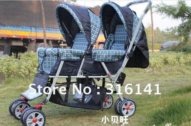 New Style Euro Baby Stroller Jogger City Select Double