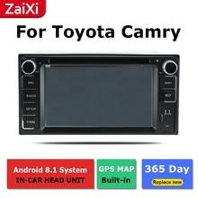 ZaiXi 2Din For Toyota Camry Daihatsu Altis 2001~2006 Car Android Radio Multimedia Player GPS Navigation IPS Screen HiFi WiFi