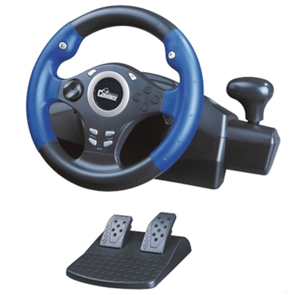Game Steering Wheel 270-Degree Racing Steering Wheel Learning To Drive For Xbox 360 For PS3 For PC For Need for Speed playstation move racing wheel