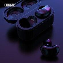 Hoofdtelefoon Remax TWS 5 Draadloze Bluetooth Koptelefoon Twins Oortelefoon Met Opladen doos headsets Bluetooth 5.0 Smart Touch Stereo