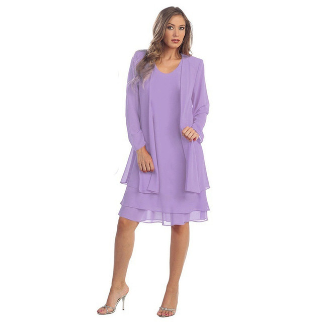 Mother Of The Bride Dresses Burgundy Chiffon Plus Size 2019 Long Sleeve Wedding Party Guest Gown Real Picture 2