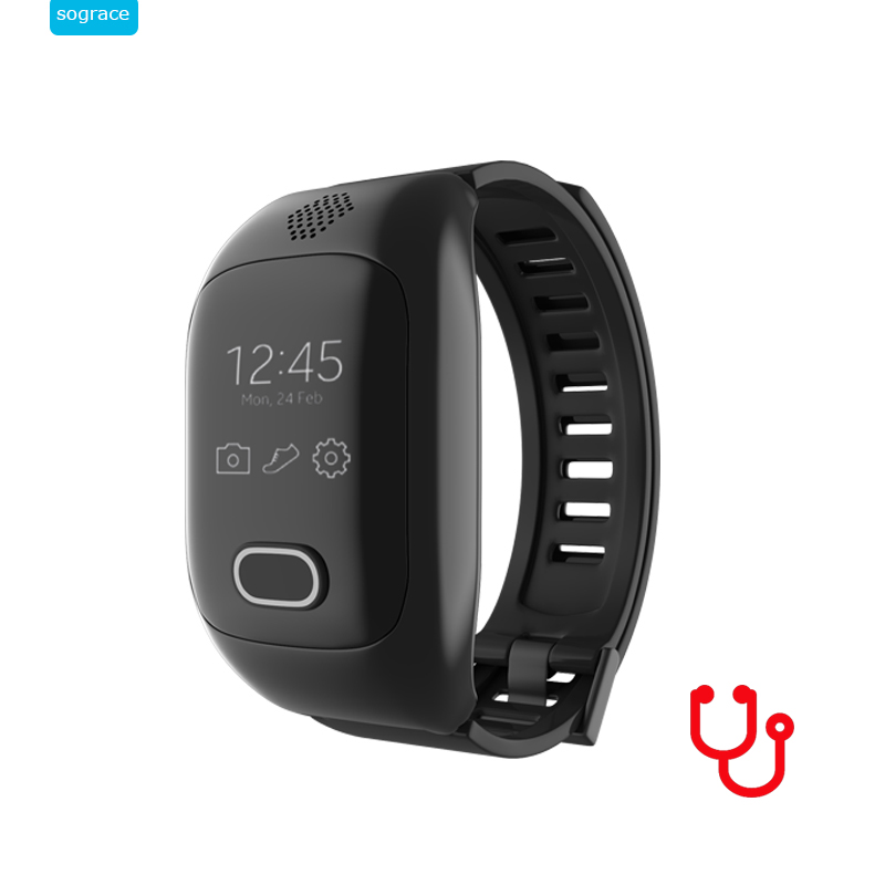 GPS Fitness Tracker Wristband Pedometer Blood Pressure Heart Rate Monitor Smart Bracelet With WIFI LBS SOS Call Smartband Phone id107 plus hr gps smart bracelet heart rate monitor pedometer smartband bluetooth fitness activity sports tracker wristband