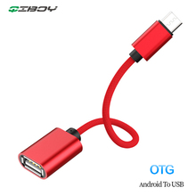 Micro USB OTG Cable Adapter Data Transfer Micro USB Male to USB Female adaptador for Samsung Xiaomi HTC Android Phone Connector цена
