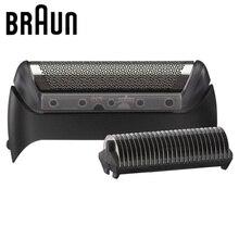 Braun Elektrische Rasierer Ersatz Blabe 10B/20B (1000/2000 Serie) folie & Cutter Kopf 1 Serie MG5010 5030 5090 CruZer Serie