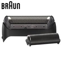 Braun Rasoio Elettrico di Ricambio Blabe 10B/20B (1000/2000 Serie) foil e Testa di Taglio 1 Serie MG5010 5030 5090 CruZer Serie