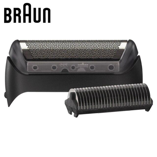 Golarka elektryczna Braun wymiana Blabe 10B/20B (seria 1000/2000) folia i głowica tnąca 1 seria MG5010 5030 5090 CruZer Series
