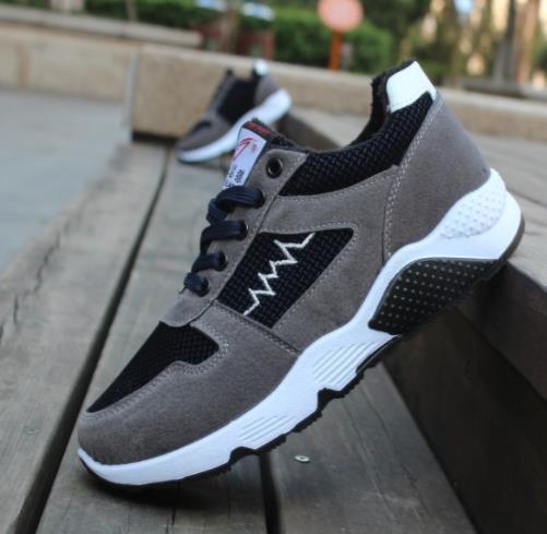 Patronage Men Shoes Men Shoes color: 1 leather|3 Add wool|Gray