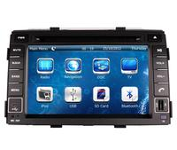 7 in dash Car DVD player with GPS(optional),audio Radio stereo,USB/SD,AUX,BT/TV,car multimedia headunit for Kia SORENTO 2011