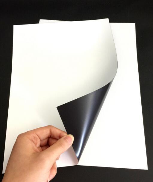 1-10 Sheet A4 Magnetic Printable Photo Paper MATT For Inkjet Printer Sheets 210*297mm a4 light brown kraft paper printable matt self adhesive sticky label for inkjet printer 2 to 20 sheets