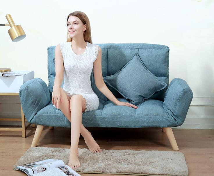 Japanese futon sofa lounger sit lounge sleep small sofa - Small couch for studio ...