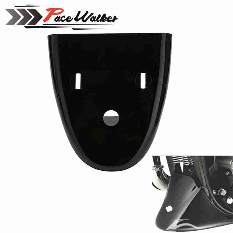 FREE SHIPPING Bright Black Vivid Gloss Black Front Bottom Spoiler Mudguard Fits For Harley Sportster 1200 XL Iron 883 2004-2016 free shipping original 0258007227 17014 0258007351 0258007057 fits for 99 05 vw jetta 1 8l l4 oxygen sensor front upstream